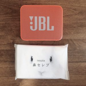 JBL GO2の大きさ